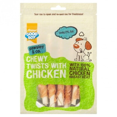 ARMITAGE CHEWY CHICKEN TWISTS - 90G