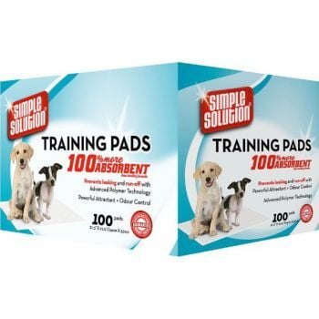 Simple Solution Puppy Training Pads-100