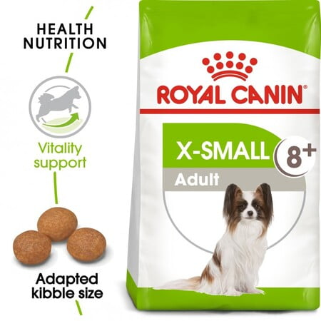 Royal Canin Size Health Nutrition XS Adult 8+ 1.5KG