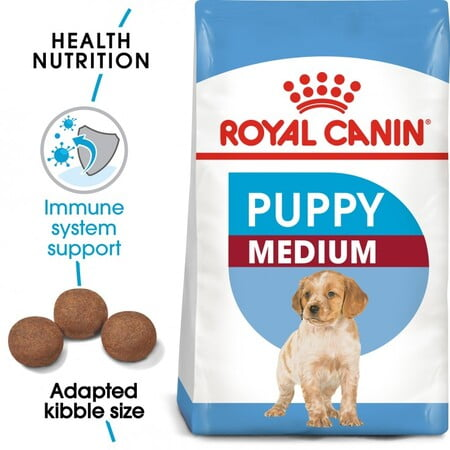 Royal Canin Size Health Nutrition Medium Puppy 4KG