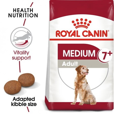 Royal Canin Size Health Nutrition Medium Adult 7+ 4KG