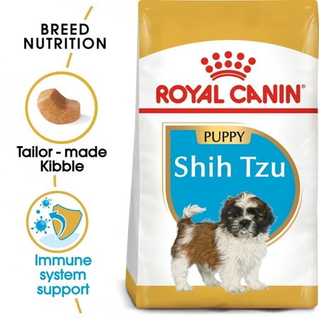 Royal Canin Breed Health Nutrition Shih Tzu Puppy 1.5KG