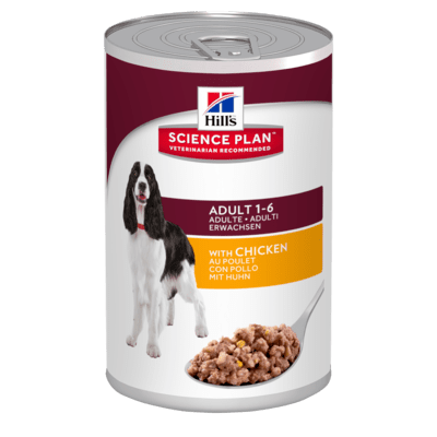 Hills Science Plan  Canine Adult Savoury Canine w/Chicken 370GX12