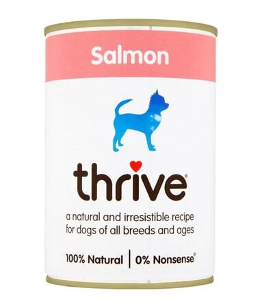 Thrive Complete Dog Salmon Wet Food 375G