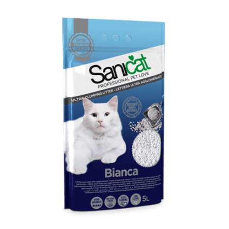 SANICAT BIANCA (Cat Litter) 5 L
