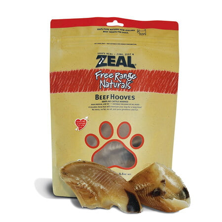 Zeal Beef Hooves (Dog Chew)