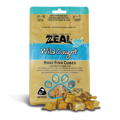 Zeal Hoki Fish Cubes (Dog Treat)