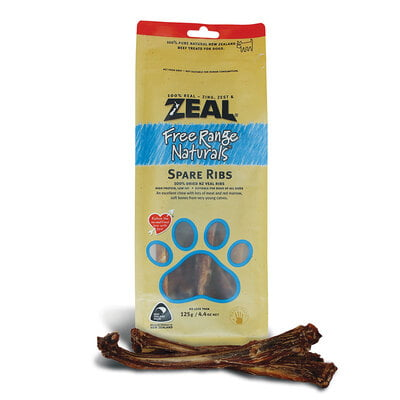 Zeal Spare Ribs (125gr) Dog Treat