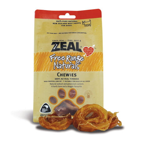 Zeal Chewies (125g) Dog Treat