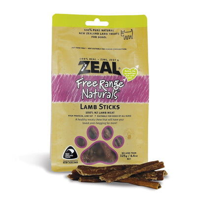 Zeal Lamb Sticks 9(Dog Treat)