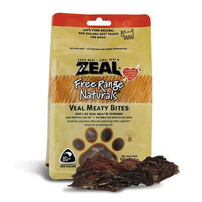 Zeal Veal Meaty Bites 125G(Dog Treat)