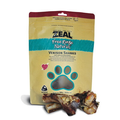 Zeal Venison Shanks (2pcs) 300g(Dog Treat)