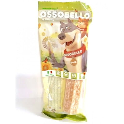 OSSOBELLO FLOWPACK BIG STAR - YELLOW 1 PC(DOG TREAT)