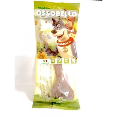 OSSOBELLO FLOWPACK BONE - BROWN L / 1 PC (DOG TREAT)