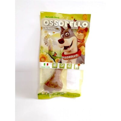 OSSOBELLO FLOWPACK BONE - BROWN XL / 1 PC(DOG TREAT)