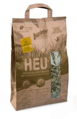 BUNNY Hay From Nature Conservation Meadows With Mealworms (250grm)