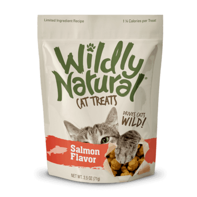 Fruitables Wildly Natural Cat Treats - Salmon Flavor (71g)