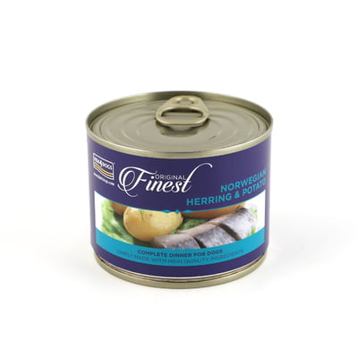 Fish4Dogs Herring Complete Wet Dog Food 185G