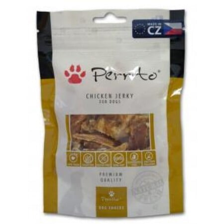 PERRITO SNACKS CHICKEN JERKY 100G(DOG)