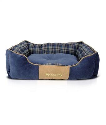 Scruffs Highland Dog Bed BLUE