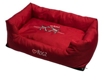 Rogz Spice Pod Bed Red Heart (SMALL)
