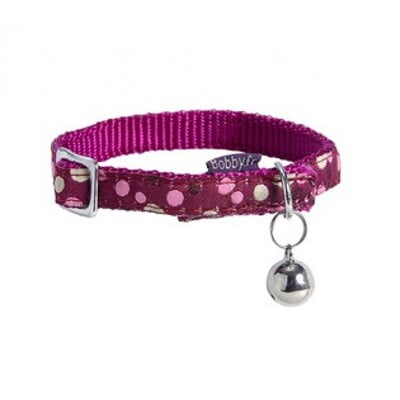 BOBBY DOLL CAT COLLAR- PINK
