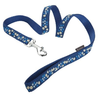 BOBBY FLOWER LEAD - BLUE