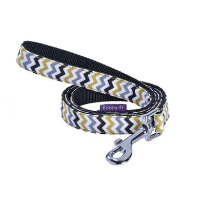 BOBBY ZIGZAG LEAD - BLACK