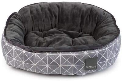 Fuzzyard Mid Town Dog Bed, Multi-Colour, Medium