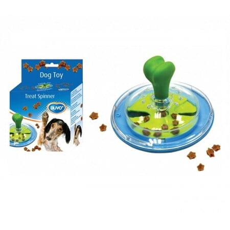 DUVO TREAT SPINNER -DOG TOY (14.5X10CM):(1717008)