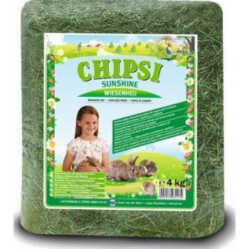 Chipsi Sunshine Meadow Hay 4kg