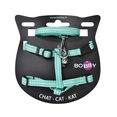 BOBBY SAFE HARNESS & LEAD - LAGON/XS