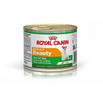 Royal Canin Canine Health Nutrition Mini Adult Beauty(cans) 12x195G (Wet Food)