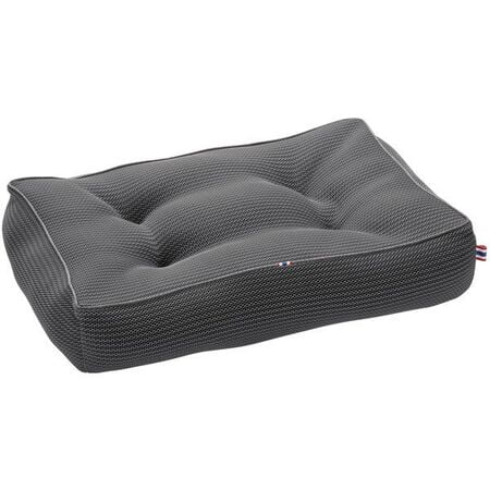 Hunter Quilted Toronto Dog Bed large Anthracite