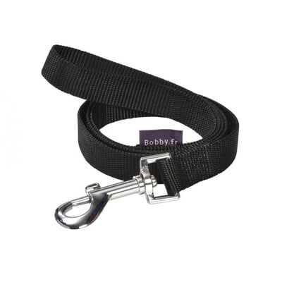 BOBBY ACCESS LEASH - BLACK / XS