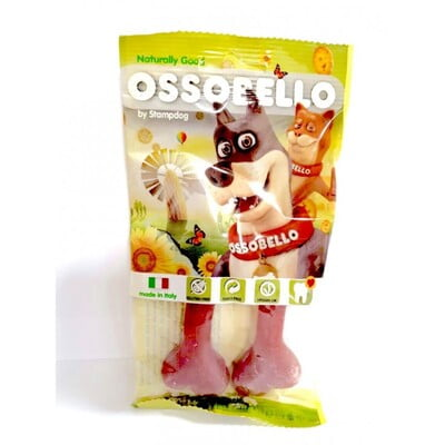 OSSOBELLO FLOWPACK BONE - RED S / 2 PCS