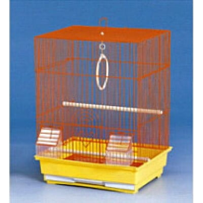 BIRD CAGE DNG (MEDIUM)PURPLE : SIZE:35×28×46CM - 10 PCS/BOX