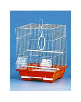 PADO BIRD CAGE DNG (MEDIUM)FULL WHITE: SIZE:35×28×46CM - 10 PCS/BOX
