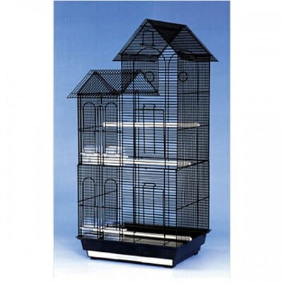 PADO BIRD CAGE DNG WHITE