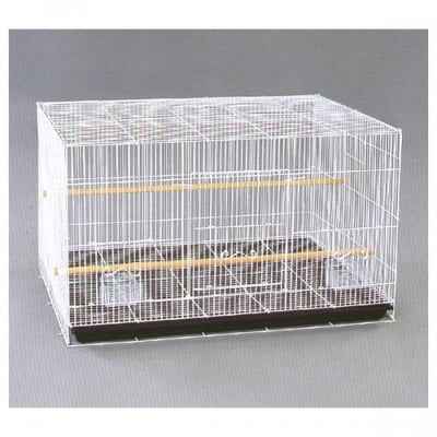 BIRD CAGE DNG (MEDIUM): SIZE:60×42×41CM (6 Pcs / Box) white