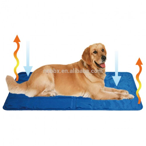 ICE BEAR PET COOLING MAT DARK BLUE 45X90 CM