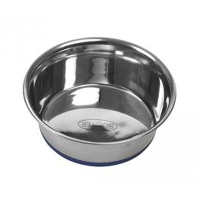 KRUUSE BUSTER STAINLESS STEEL BOWL BLUE BASE SS 1.9L