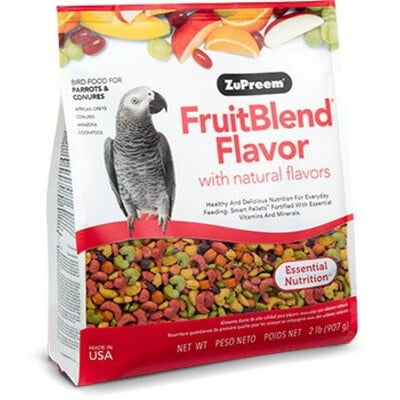 ZUPREEM FRUITBLEND FLAVOR MEDIUM & LARGE PARROT FOOD 3.5 LB