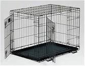 "MidWest 30"" LifeStages Double Door Dog Crate"