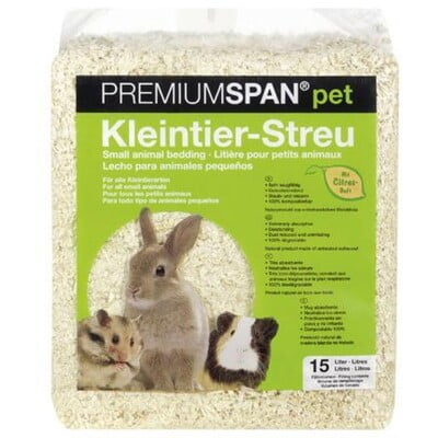 PREMIUMSPAN BEDDING 15 L - LEMON SCENT