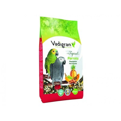 Vadigran Parrot Tropical 650 Gr With Mix Fruits