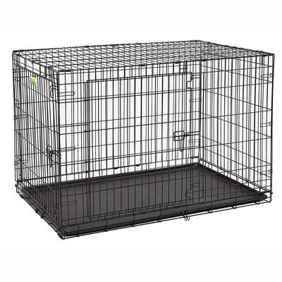 "MidWest 48"" LifeStages Double Door Dog Crate"