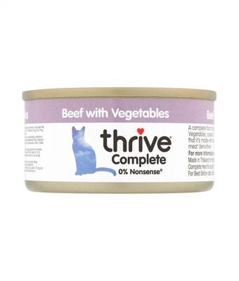 Thrive Complete Cat Beef with Vegetables Wet Food 75G