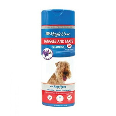 Four Paws Magic Coat Tangles And Mats Shampoo For Dogs 16oz