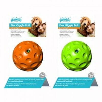 PAWISE FLEX CHIME BALL 9CM:14572